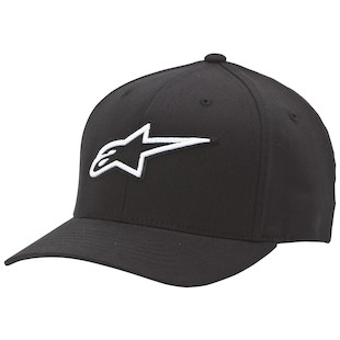 Alpinestars Corporate Hat (Color: Black / Size: SM-MD) 1012448