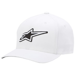 Alpinestars Corporate Hat (Color: White / Size: SM-MD) 1012452