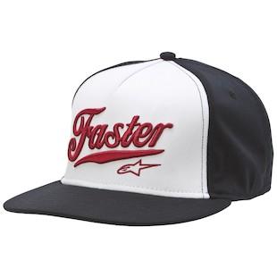 Alpinestars Faster Hat (Color: White / Size: SM-MD) 1012474