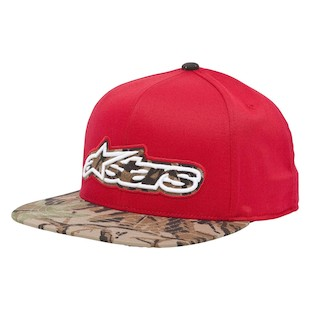Alpinestars Saber Hat (Color: Red) 1006506