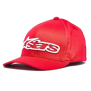Alpinestars Blaze Hat (Color: Red/White / Size: SM-MD) 1013832