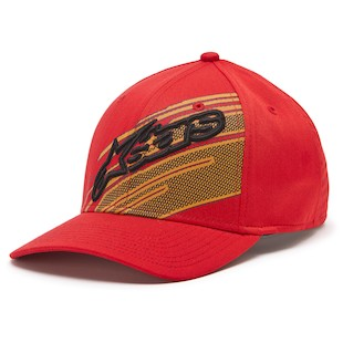Alpinestars Starks Hat (Color: Red / Size: LG-XL) 1013841