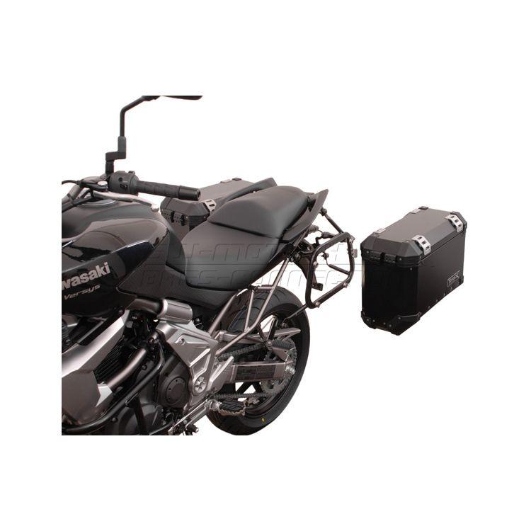 SW-MOTECH Quick-Lock EVO Side Case Racks Kawasaki Versys 650 2007-2014