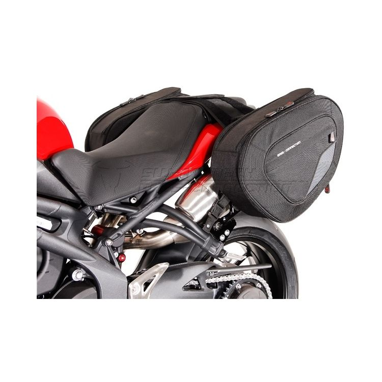 SW-MOTECH Blaze Saddlebag System Triumph Speed Triple/R 2011-2014