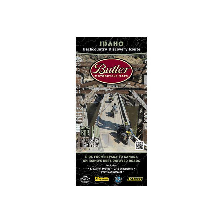 Butler Maps Idaho Backcountry Discovery Route
