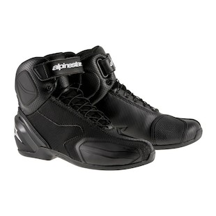 Alpinestars SP-1 v2 Vented Shoes (Color: Black/Black / Size: 40) 1286500