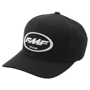 FMF Factory Classic Don Hat (Color: Black/White / Size: LG-XL) 1016339