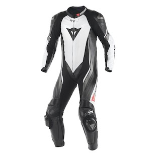 Dainese Trickster EVO C2 Perforated Race Suit (Color: White/Black/Anthracite / Size: 44) 990324