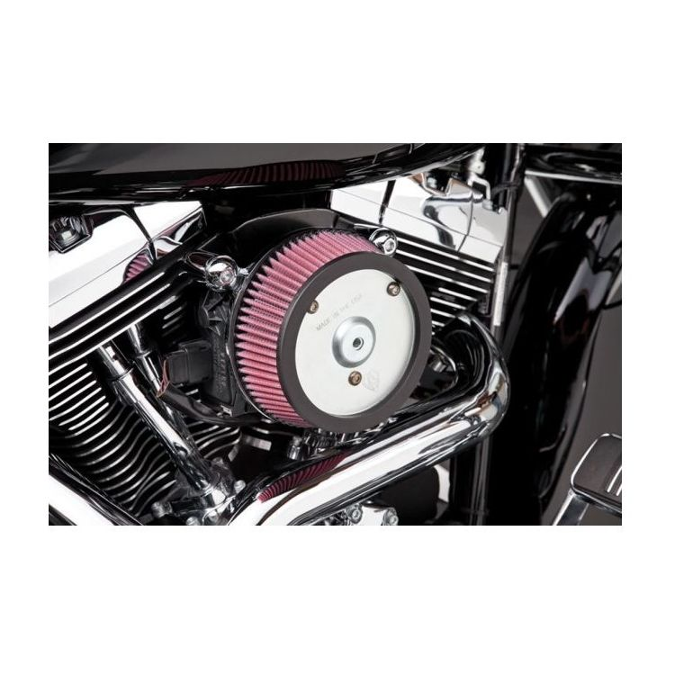 Arlen Ness Naked Stage 1 Big Sucker Air Cleaner For Harley Touring 2008-2017