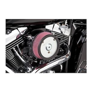 Arlen Ness Naked Stage 1 Big Sucker Air Cleaner For Harley Touring 2008-2013 (Material: Standard Air Filter / Type: Chrome Backing Plate) 1017494