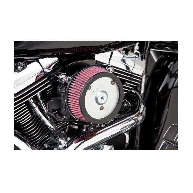 Arlen Ness Naked Stage 1 Big Sucker Air Cleaner For Harley