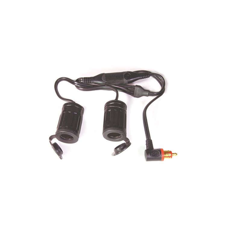 TecMate Dual Socket To DIN Y-Splitter Cable