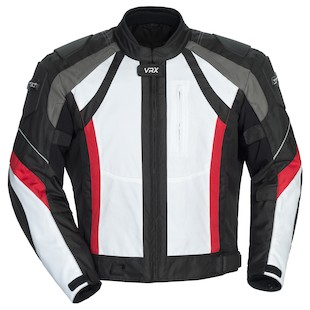 Cortech VRX Jacket (Color: White/Black/Red / Size: 3XL) 976058