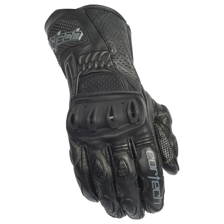 JOE ROCKET GPX BLACK Gauntlet Leather Gloves FREE SHIPPING