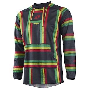One Industries Atom Rasta Jersey (Color: Black / Size: MD) 1020972