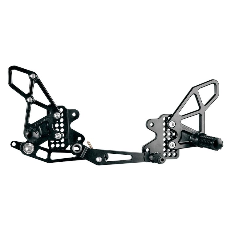 Vortex Adjustable Rearsets GSXR 1000 2009-2016