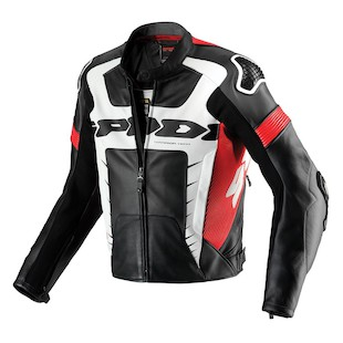 Spidi Warrior Pro Jacket - (Sz 54 Only) (Color: Black/Red / Size: 54) 1021584