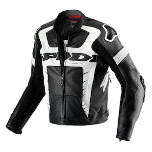 Spidi Warrior Pro Jacket (Color: Black/White / Size: 46) 1021573
