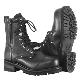 River Road Double Zipper Field Boots (Color: Black / Size: 13) 981174