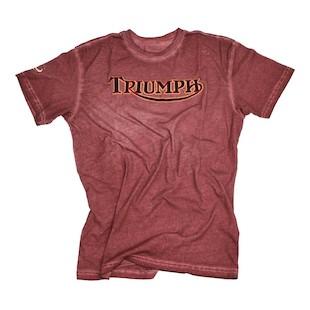 Triumph UHL Original Wild One T-Shirt (Color: Burgundy / Size: SM) 1021856