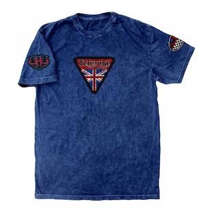 Triumph UHL Triumph Pin Up T-Shirt (Color: Blue / Size: 2XL) 1023023