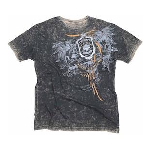 Triumph UHL Triumph Crest T-Shirt - (Sz MD Only) (Color: Black/Grey / Size: MD) 1023015