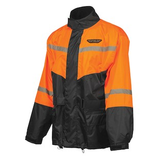 Fly Rain Suit (Color: Orange/Black / Size: XL) 1023874
