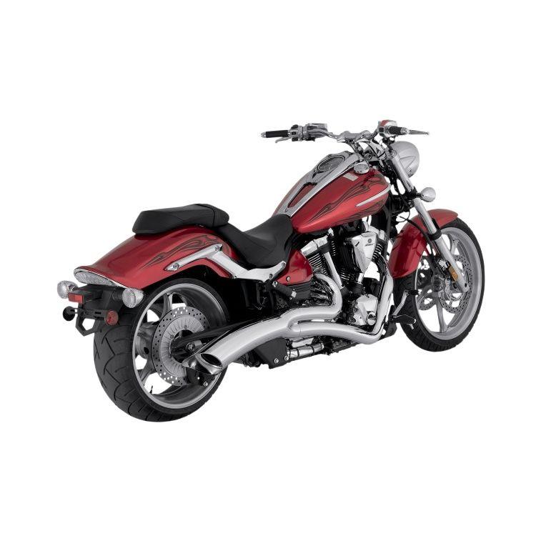 Vance & Hines Big Radius 2-Into-1 Exhaust For Yamaha Raider XV1900C 2008-2014