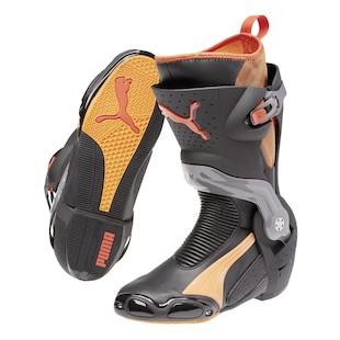 Puma 1000 v4 Boots (Size 38 Only) (Color: Black/Orange / Size: 38) 1029161