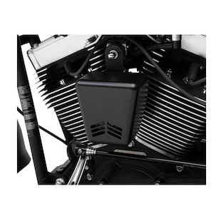 Custom Dynamics Mini Beast V Air Horn For Harley Big Twin (Finish: Black) 1225001