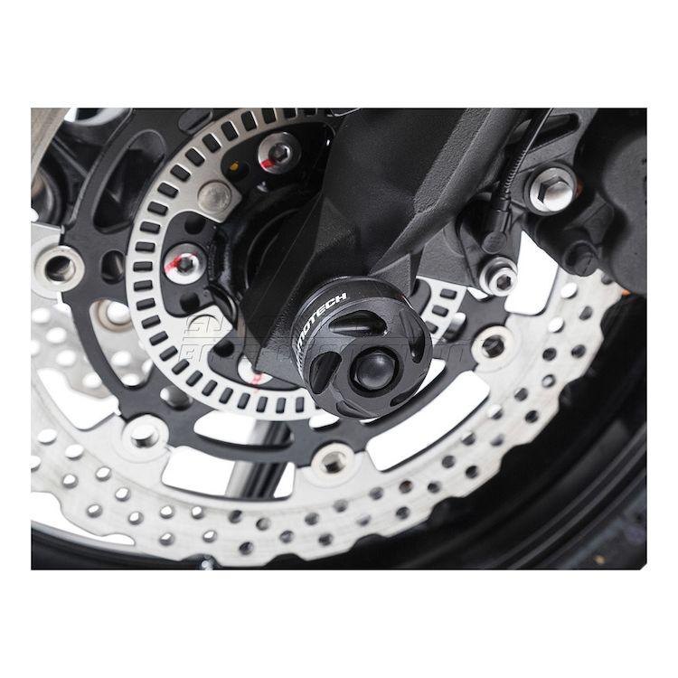 SW-MOTECH Front Axle Sliders Ducati