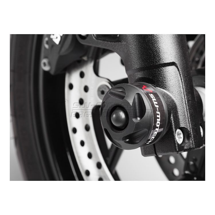 SW-MOTECH Front Axle Sliders BMW F800R 2009-2014