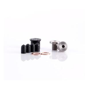British Customs Air Injection Removal Kit Triumph Bonneville / SE / T100 / Thruxton / Scrambler / America / Speedmaster (Finish: Black Oxide) 1019404