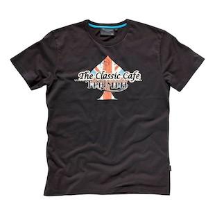 Triumph Classic Cafe T-Shirt - (Sz 3XL Only) (Color: Black / Size: 3XL) 1023185