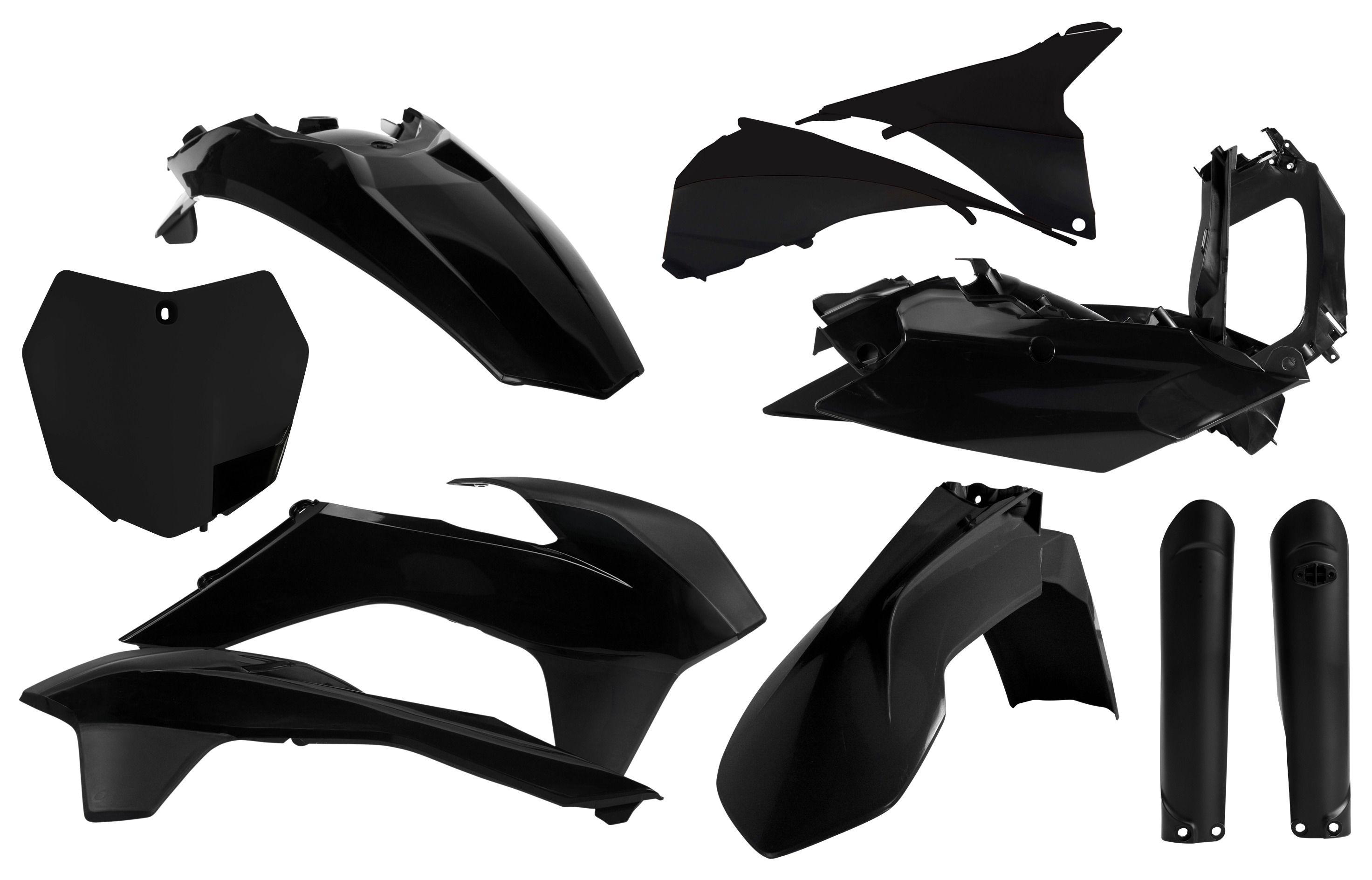 for 12 KTM 250SX 2011 OEM Colors Acerbis Full Plastic Kit
