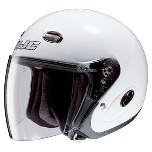 HJC CL-33 Open Face Helmet (Color: White / Size: 2XL) 209613