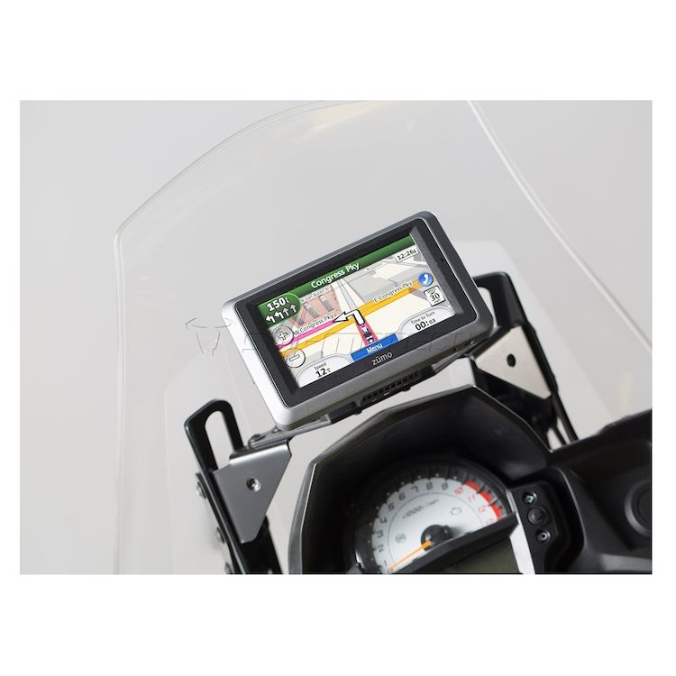 SW-MOTECH Quick Release GPS Mount Kawasaki Versys 650 2015-2021