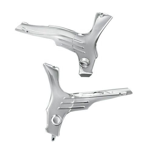 Fox Chrome Exhaust Pipes For Suzuki Hayabusa