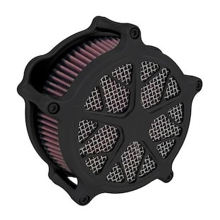 Roland Sands Venturi Hutch Air Cleaner For Harley Big Twin 1993-2017 (Finish: Black Ops) 1040026