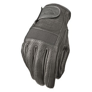 Highway 21 Jab Perforated Gloves (Color: Black / Size: 3XL) 1040984