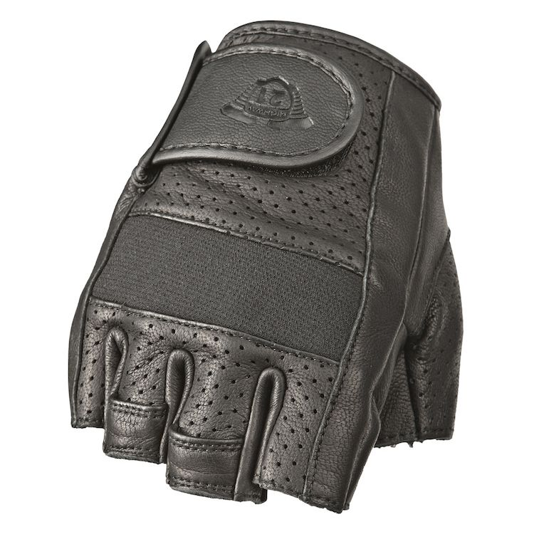 b6648266127c32 Highway 21 Half Jab Perforated Gloves - Cycle Gear