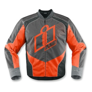Icon Overlord Textile Jacket (Color: Orange / Size: XL) 974531