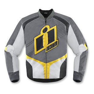 Icon Overlord Textile Jacket (Color: Yellow / Size: SM) 974543