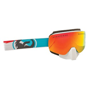 Dragon NFXS Snowmobile Goggles (Color: Incline / Lens: Red Ion) 1041481