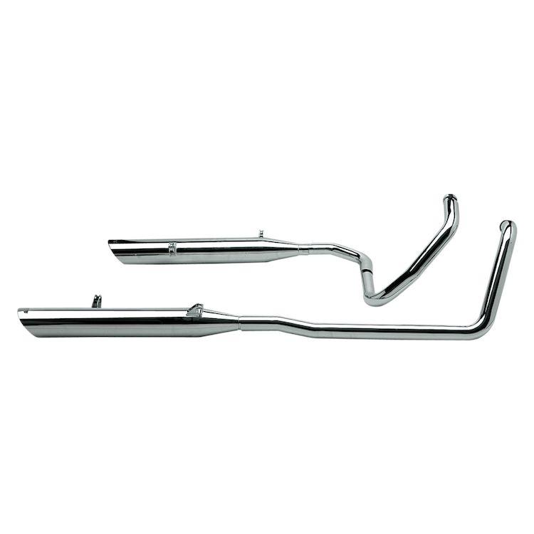 Vance & Hines Bagger Slash-Cut Dual Exhaust
