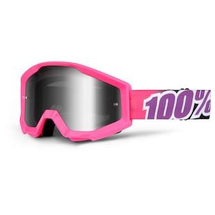 100 Strata Goggle (Color: Bubble Gum / Lens: Mirror Silver) 1045520