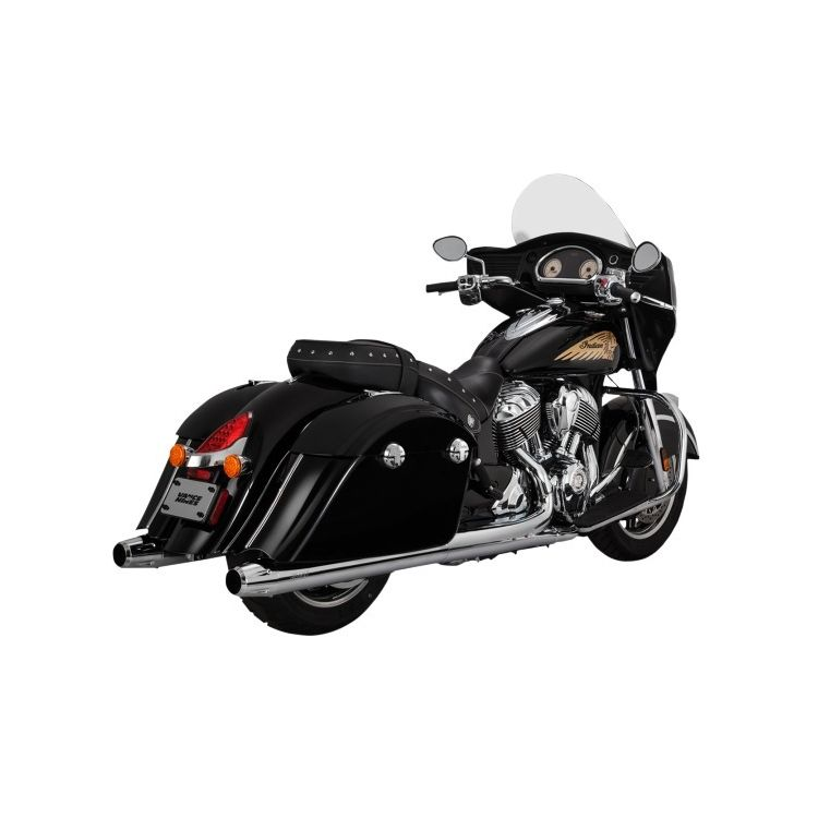Vance & Hines Classic Slip-On Mufflers For Indian 2014-2019