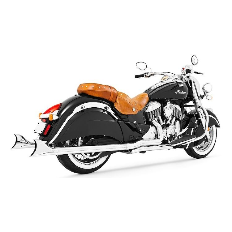 Freedom Performance True Dual Sharktail Exhaust For Indian Chieftain 2014-2019