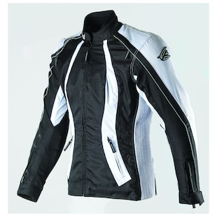 AGV Sport Xena Women's Textile Jacket (Color: Black/White / Size: SM) 942113