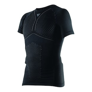 Dainese D-Core Thermo T-Shirt (Color: Black/Anthracite / Size: XL) 1033251
